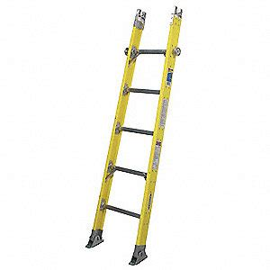 sectional ladder werner sectional ladder base h 6 ft fiberglas 41d280