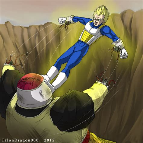 vegeta vs android 19 by talondragon000 on deviantart