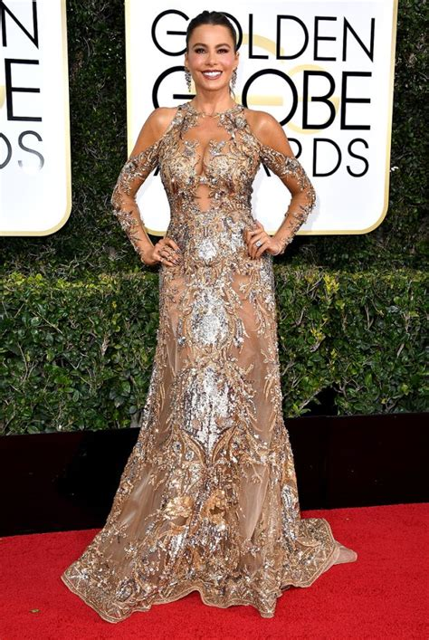 Shofiya Lucia Dress golden globes 2017 see all the on the carpet