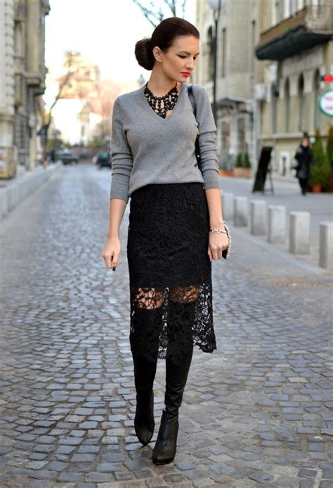 Rich Top Blouse Hq be a charming with lace feminine lace skirts