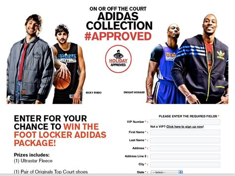 Adidas Sweepstakes - foot locker adidas sweepstakes