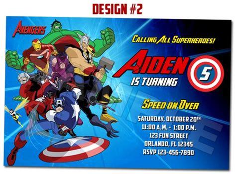 avengers superheroes movie birthday party photo