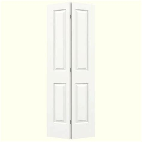 2 Panel Bifold Closet Doors Jeld Wen Smooth 2 Panel Hollow Molded Interior Closet Bi Fold Door Thdjw160100091 The