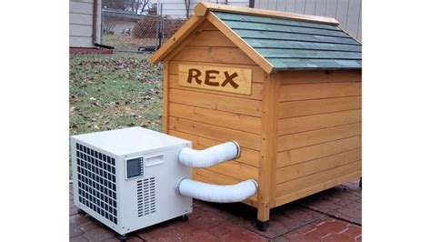 dog house with ac and heater man s best friend doesn t need its own air conditioner
