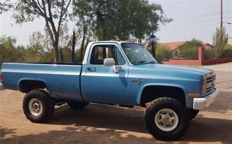 rust   chevrolet   ton   orig straight dry arizona truck  sale