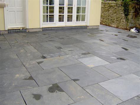 cheap garden paving exterior slate paving black slate