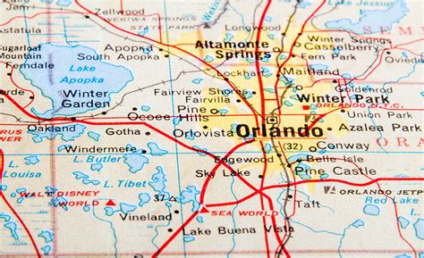 map of ta florida and surrounding area service property management in orlando florida