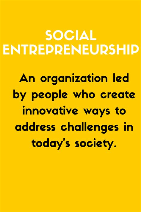 Social Entrepreneurship Mba by Social Entrepreneurship