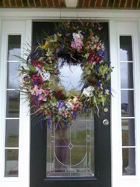 wreath ideas for front door spring wreath a door able wreath ideas pinterest