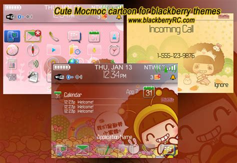 themes cartoon blackberry 9300 mocmoc blackberry themes free download blackberry apps