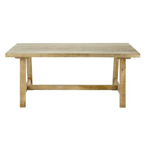 mango wood dining table w 180cm farmers maisons du monde