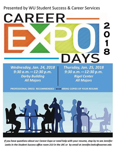 how to work a job fair mr endicott personal career planning