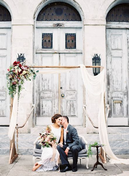 Wedding Arch Rental New Orleans by Wise Floral Events New Orleans La Wedding Florist