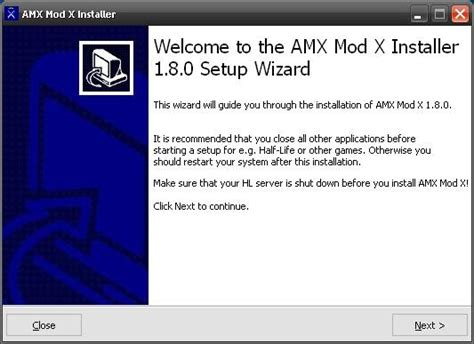 x mod game installer techgulf how to install amx mod x for counter strike 1 6