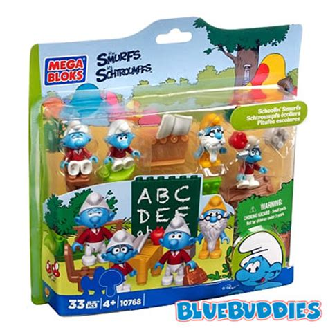 Diskon Mega Bloks Smurf 10768 Smurfs School new smurf mega bloks