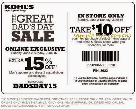 free printable kohls coupons kohls coupons august 2014