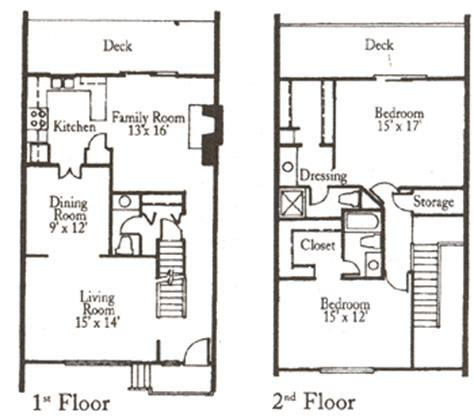 huntington village townhomes 2 story 2 bedroom