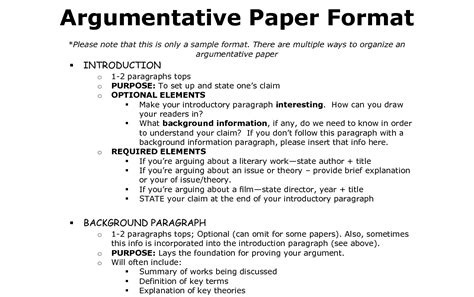 Structure Of An Argumentative Essay by 21 Glamorous Exles Of Conclusion Paragraphs For
