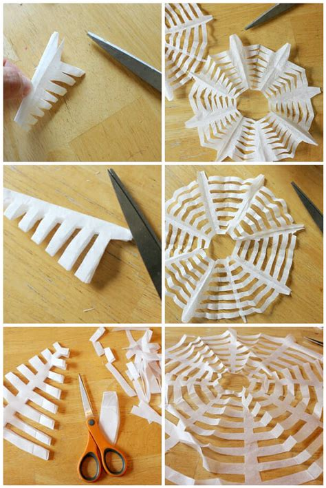 How To Make Spider Webs Out Of Paper - purefun supply