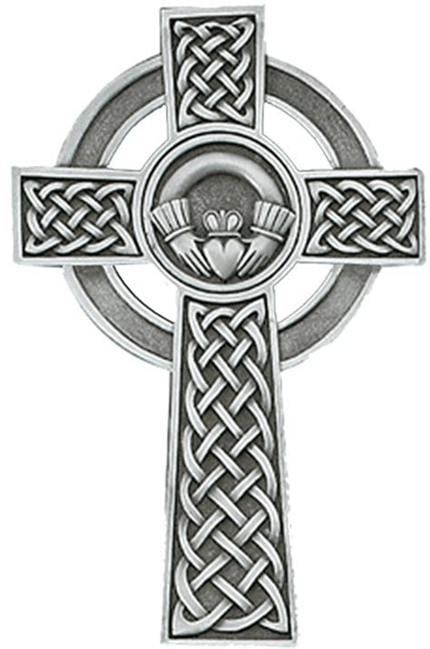 celtic cross and claddagh tattoo pewter 5 in claddagh celtic cross