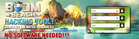 tutorial hack boom beach methode hacken boom strand middelen gratis en