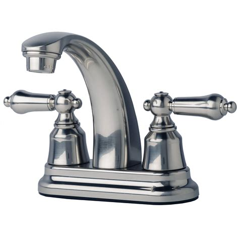 rv bathroom faucet rv mobile home bathroom vanity sink 4 quot centerset lavatory faucet brushed nickel ebay