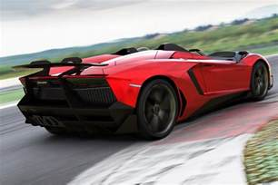 lamborghini aventador j is a one speedster for a