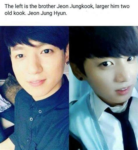 kim taehyung younger brother bts with their family member army s amino