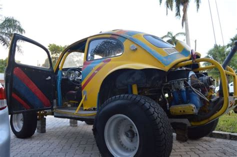 yellow baja bug yellow volkswagen competition baja bug dune buggy with