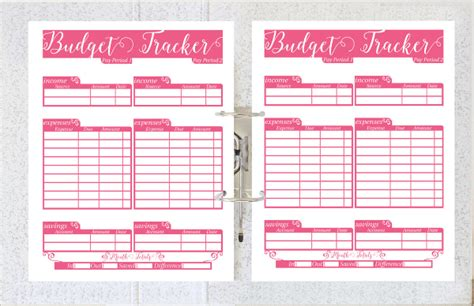 5 daily budget planner templates free sle exle