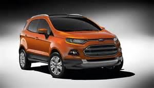 2013 ford ecosport crossover launches at delhi motor show