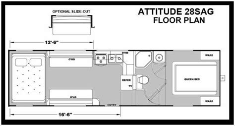 eclipse attitude toy hauler floor plans 2014 eclipse attitude l28sag fifth wheel tucson az