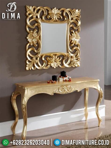 Meja Konsul Cermin meja konsol cermin hias minimalis meja konsul jepara meja hias ukiran mewah df 0459 dima