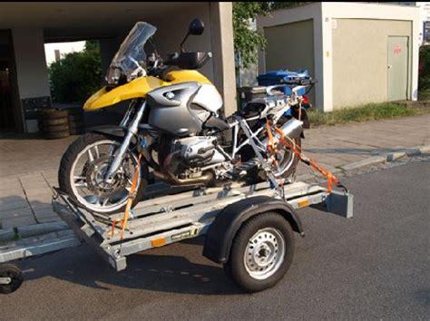 Motorrad Anh Nger Festzurren by Anh 228 Nger Autoverleih Samm 252 Ller