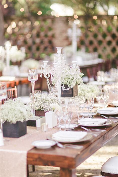 Edle Tischdeko Hochzeit by 7 Planter Boxes To Use For Your Rustic Wedding Reception