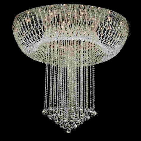 Mirrored Chandelier Brizzo Lighting Stores 32 Quot Chateaux Modern Foyer Crystal