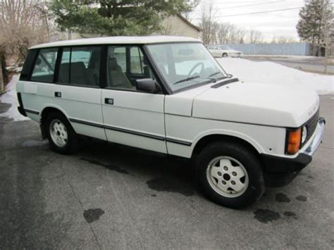 sell used 1993 land rover range rover lwb mosswood green 157k air suspension calif car in san sell used 1993 land rover range rover county lwb sport utility 4 door 4 2l in albany new york