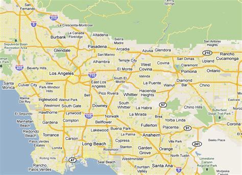 map of los angeles county la county map of areas pictures to pin on pinsdaddy