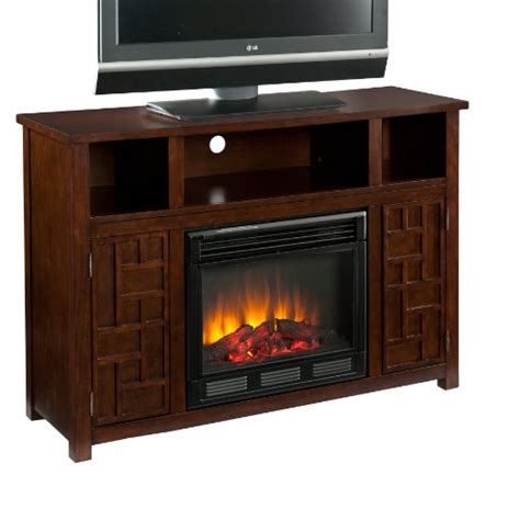 Sei Electric Fireplace by Sei Amz9739e Hensley Electric Media Fireplace Espresso