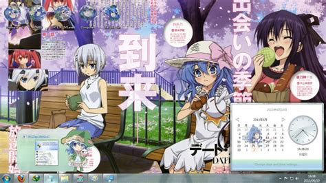 download theme windows 7 yoshino date a live lisa opetersart theme win 7 yoshino date a live v9 by