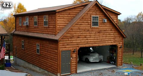 living in a garage 2 car 2 story garage two story garage horizon structures