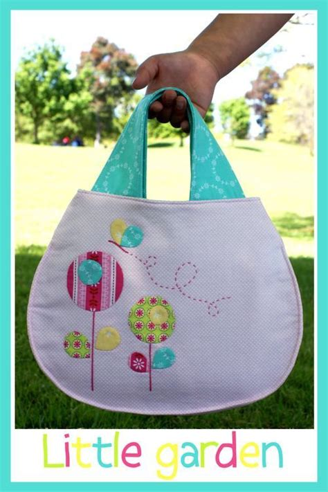 garden tote bag pattern melly and me little garden childs bag tote purse sewing