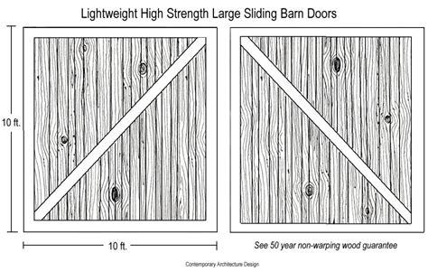lightweight barn door lightweight barn door large lightweight honeycomb