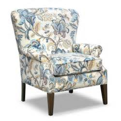 Accent Furniture Caroline Blue Accent Chair Furniture