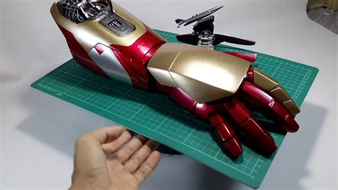 iron man gauntlet replica mark hd details view