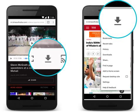 android chrome chrome for android gets new data saver and offline viewing features