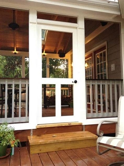 Screen Porch Doors by Creative Ideas To Remodel Your Screened Porch Interior
