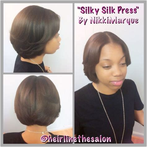 short pressed hairstyles 33 best blow out silk press natural hair straighten