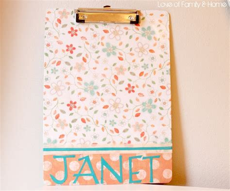 How To Decorate Clipboard by 1000 Ideas About Decorated Clipboards On