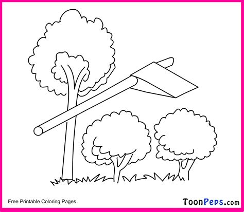 Toonpeps Free Printable Small Tree Coloring Pages For Small Tree Coloring Pages